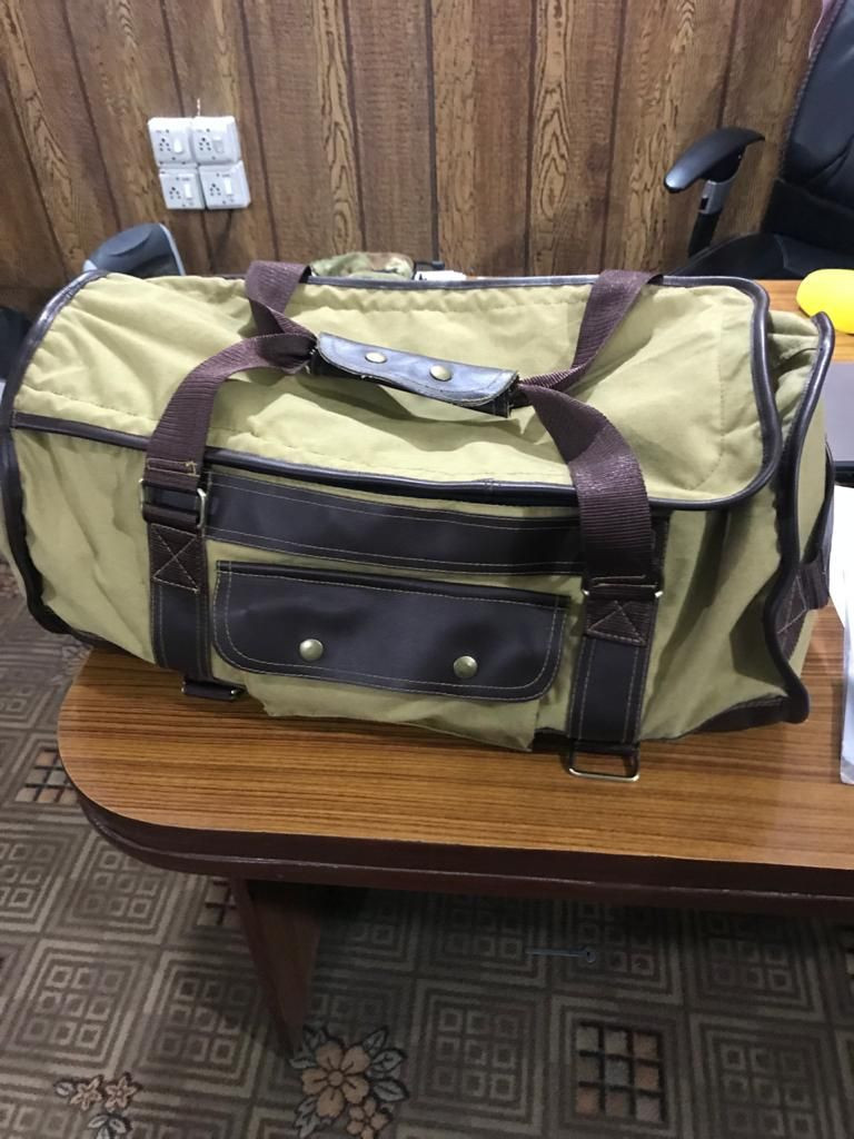 Water Proof Leather\Canvas Duffel Bags