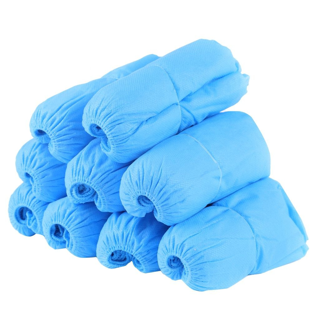 Disposable indoor outdoor high elastic shoe covers anti-slip shoe covers biodegradable shoe cover