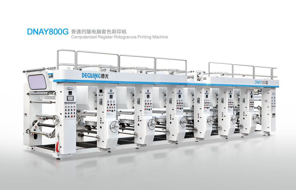 DNAY800.1100G Computerized Register Rotogravure Printing Machine