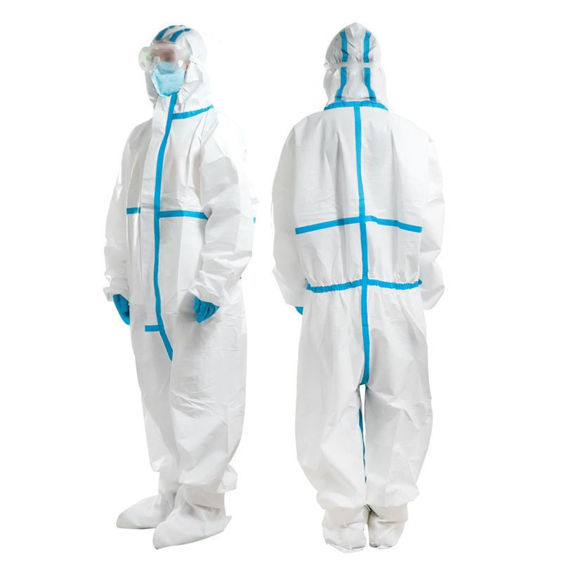 Disposable safety full body protection disposable coverall