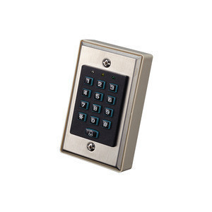Access Control Keypad(Lumination&Bell Funciton) (Stainless Steel)