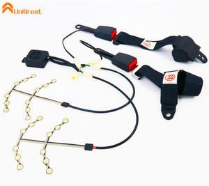 Best School bus seat occupancy pressure sensor with safety belt SeatBelt life belt latch Buckle
