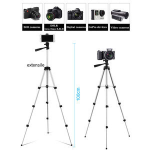 Cheap High Long Tripod Camera Stand bluetooth Remote Control DSLR Photo Tripod Set Kit Gift Phone Holder Bracket for Cell Phone