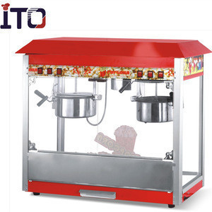 China automatic commercial industrial popcorn making machine popcorn maker