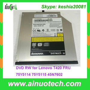 DVD-RW/CD-RW Combo Laptop replacement parts DVD RW for Lenovo T420 DVD Rom FRU 75Y5114 75Y5115 45N7602 laptop Optical Drives