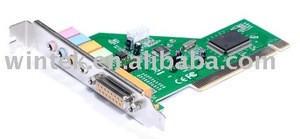 ESS 1373 4CH PCI internal sound card PCI game port card