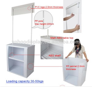 Factory Made Popular PP Promotion Table