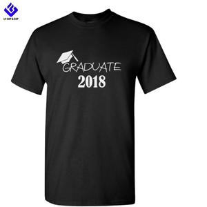 Fashion 100% Cotton Graduation T-shirt Imprint