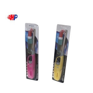 HB-601 China haopai factory encendedores elctricos electric usb long gas stove lighter