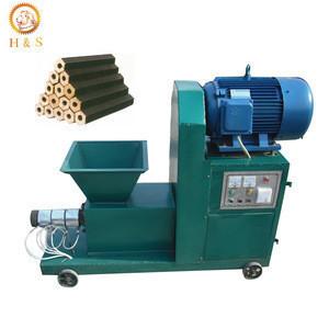 High capacity wood sawdust charcoal making machine,wood charcoal briquette production line