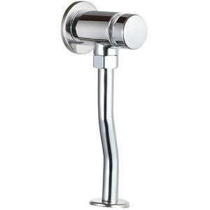 High class timing delay wall mounted flashing valve faucet brass men's urinal taps