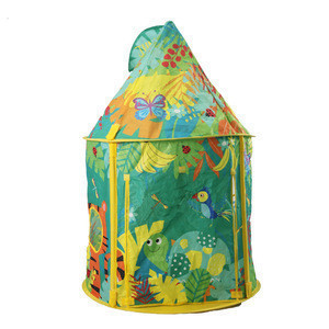 Made in china indoor or outdoor kids playhouse baby play house tent for 2 person
