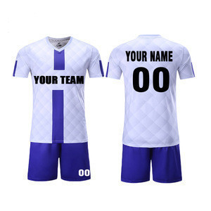 Men  Soccer wear Set Sublimation Uniforms Hot design