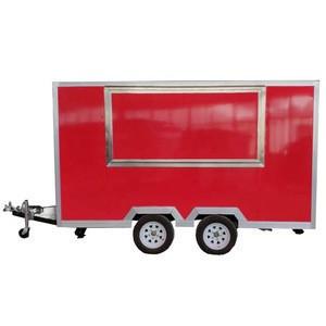 New Condition Street snack / ice cream / hamburger / sandwich food cart Application mobile ice cream food truck