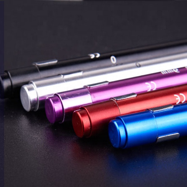 OEM  Aluminum Alloy Portable Flashlight Torch Medical First Aid Penlight Doctor tool TOPEAST