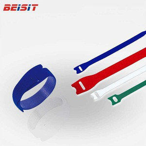 Self-locking adjustable strap fasteners