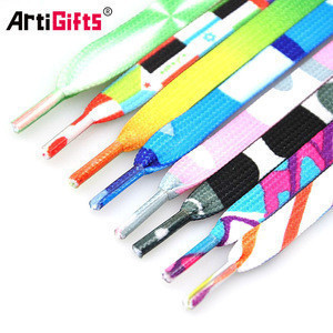 Shoe Laces Manufacturing Wholesale Printed Custom ShoeLace