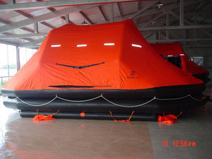 SOLAS Approved CCS Type EC Type Inflatable Life Raft