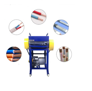 Waste Wire RecyclingManual Electric Used Wire Cutting Stripper Tool Machine For Copper Wire Skinning Removing Stripping Machine