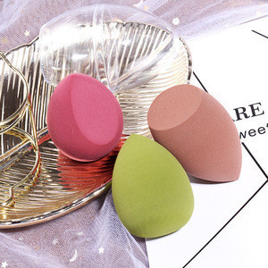 Wholesale 3pcs Beauty  Makeup Sponges Set With Holding Tray