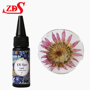 Wholesale UV resin uv curing crystal clear glue for Art Crafts supplies DIY jewelry pendant epoxy uv Resin 50g