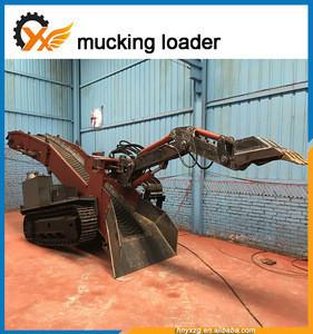 ZWY-60 Underground Mining use Crawler Mucking Loader tunnel loader