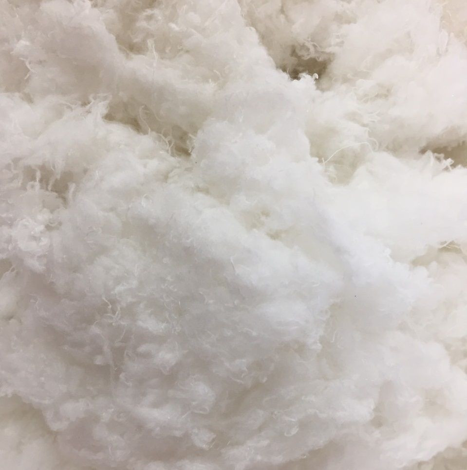 100% Polyester staple fiber virgin recycle for filling material pillow - spinning - non woven fabric