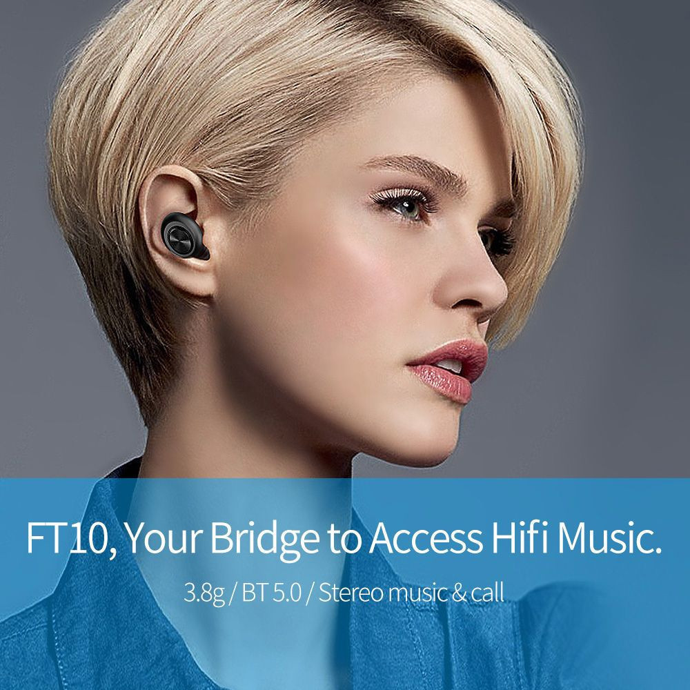 FT10 Wireless Bluetooth Earphones