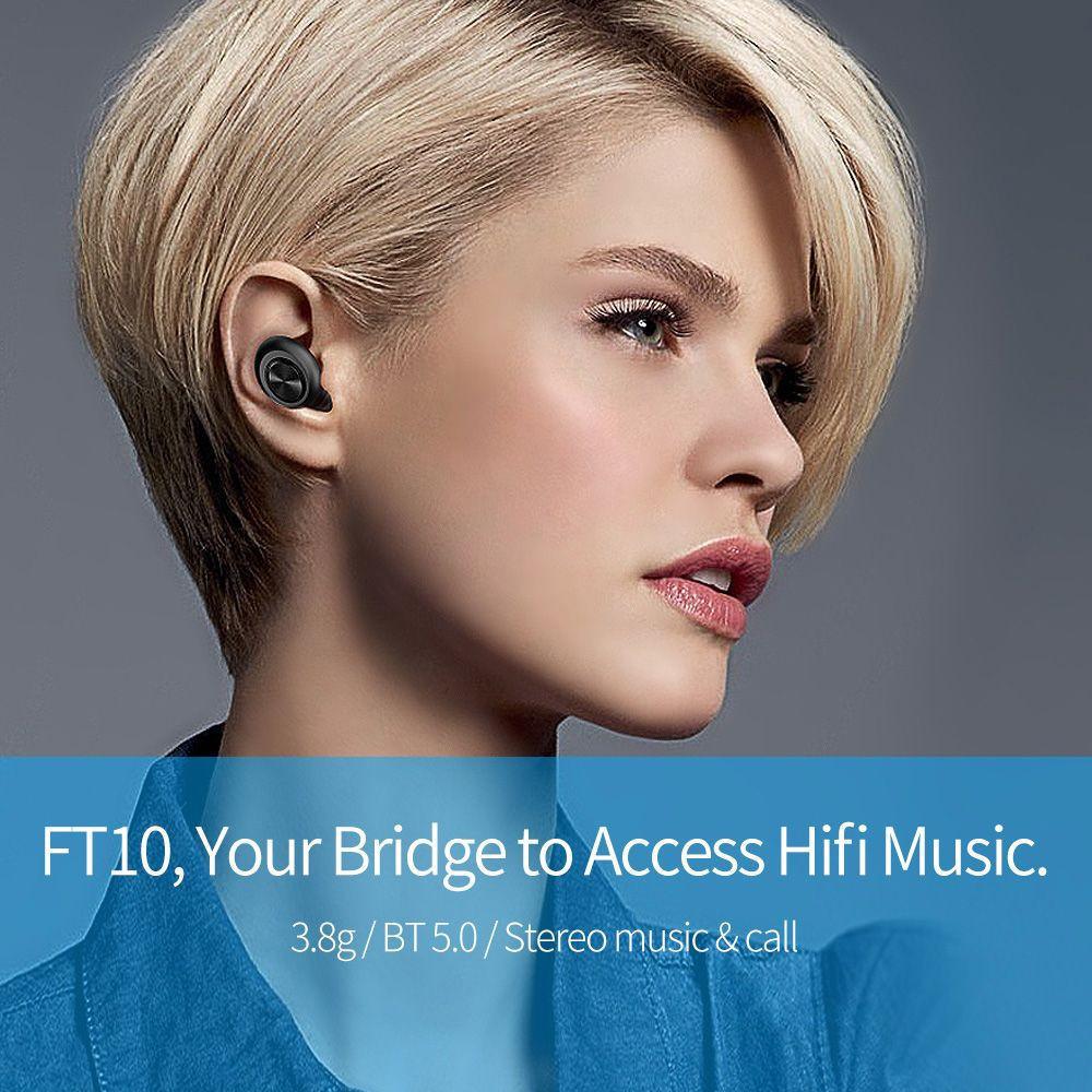 FT10 Wireless Bluetooth Earphones