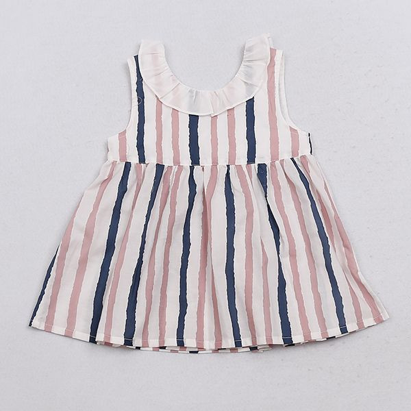 Striated Baby Girl Dress