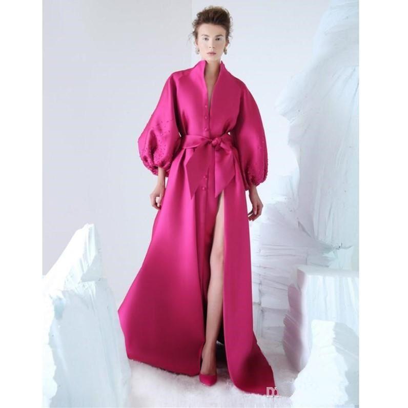 New Long Sleeves Mermaid Velvet Applique Split Sexy Evening Dresses pecial Occasion Dresses Elegant Prom Dresses