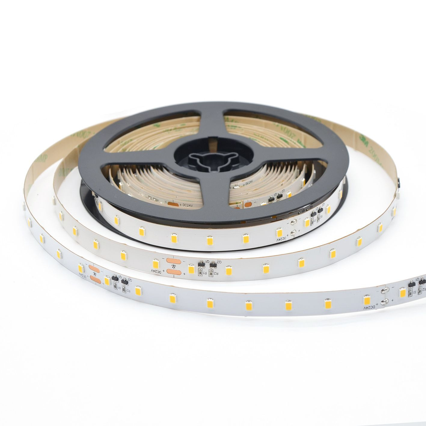 SMD 2835 LED strip light 2700K-6500K DC 12V 24V 6W-18W/Meter CE ROHS ETL UL 50,000hrs lifespan samples in stock fast delivery