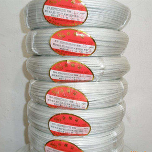 4square mm copper core high temperature resistance 500C induction heating insulation wire: 50M/ROLL