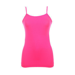 Basic adjustable women ladies seamless camisole