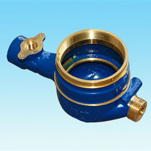 Brass body of multi-jet dry-dial IC water meter DN15