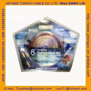 Car Amplifier Wiring Kit 8GA Wiring kits BOSS WIRING KIT