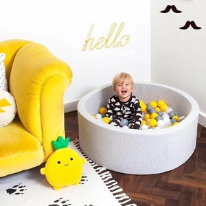 Cheap toy  Children's Indoor Ball Pool Baby Games House Dry Pool Kids' bedroom basin household decor