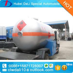 China factory 2-axles Q345R LPG liquefied petroleum gas tank trucks