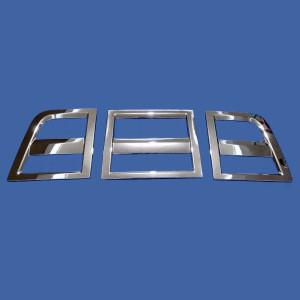Chrome front panel frame for ISUZU NEW GIGA Japanese truck body parts