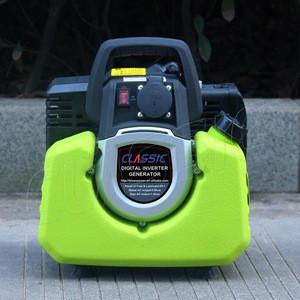 CLASSIC CHINA 950 Portable Petrol Generator Mini Gasoline, 2 Stroke Air Cooled Small Generator 500 Watt