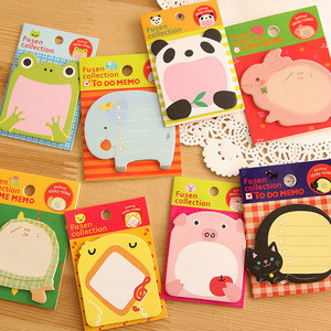 Creative Letter Sticky Note, Animal Lovely Sticky Note Pad for Students
