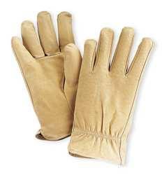 D1592 Leather Drivers Gloves Pigskin L PR