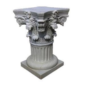 Designer home decor stone roman cheap columns pillars stands flowers