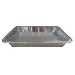 Disposable aluminum foil containers turkey plate barbecue pans airplane lunch boxes fast food boxes custom factory direct Turkey