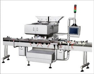 Electronic one head automatic capsule and tablet counting machine