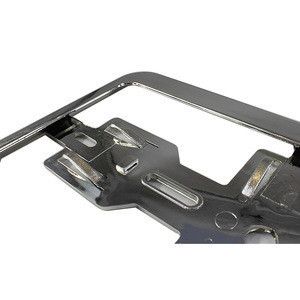 European Style License Plate Frame Bracket Holder & Multiple Mounting Points