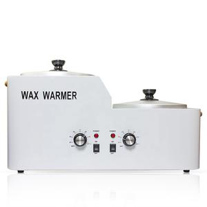 Factory Sale Double Pots Electric Depilatory Wax Warmer/ Body Hair Removal Wax Heater