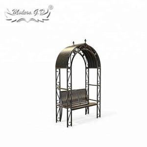 Factory Supply Iron Park Patio Outdoor Garden Chair