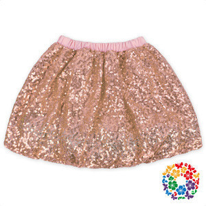 Girls Boutique Clothing Wholesale Bling Bling Lavender Sequin Baby Tutu Skirt Girl Skirts Kids