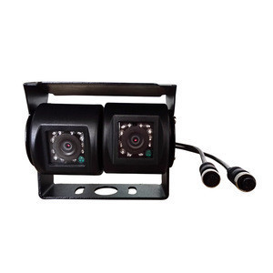 Great quality IR Lights Waterproof IP68 dual lens cameras for Bus and trucks